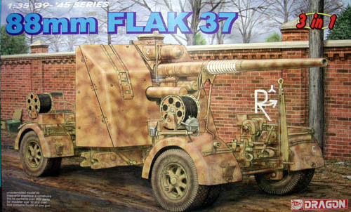 DRAGON 6287 1/35 88mm FLAK 37