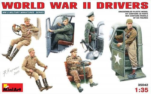 MINIART 35042 1/35  WWII Drivers Set