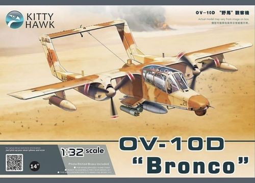 "KITTY HAWK 32003 1/32 OV- 10D ""Bronco"""