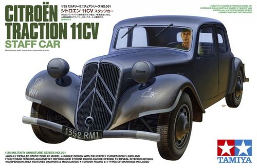 TAMIYA 35301 1/35 Citroen Traction 11CV Staff Car