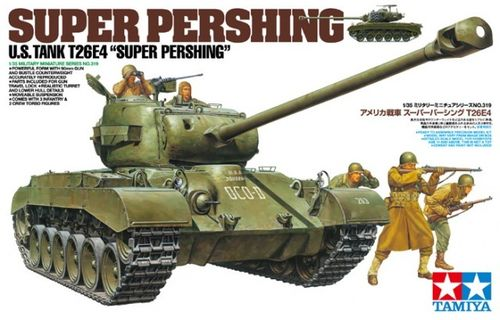 TAMIYA 35319 1/35 T26E4 Super Pershing