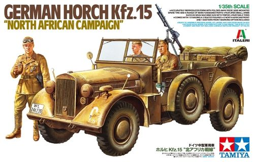 "TAMIYA 37015 1/35 ""North African Campaign"" German Horch Kfz.15"