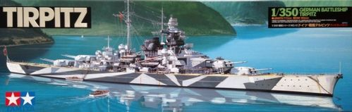 TAMIYA 78015 1/350 Tirpitz German Battleship