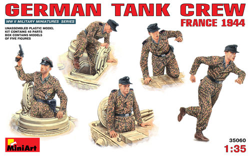 MINIART 35060 1/35 German Tank Crew France 1944