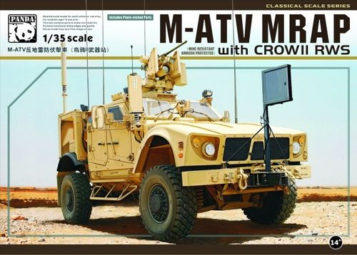 PANDA HOBBY PH35007 1/35 M-ATV MRAP with CROW II RWS