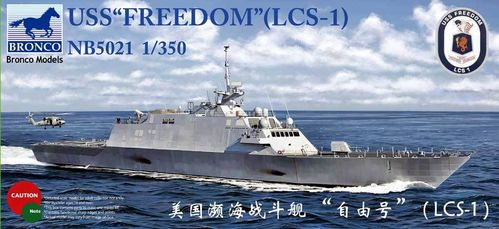 "BRONCO MODELS NB5021 1/350 USS ""Freedom"" (LCS-1)"