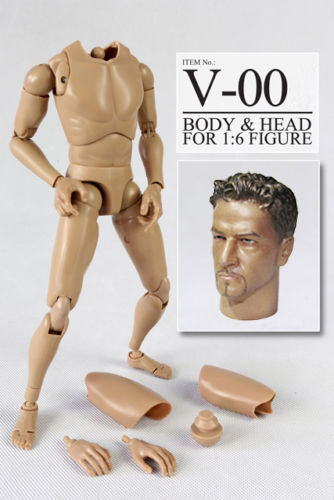 "VERY HOT V-00 1/6 V1-N Body & head for 12"" figure"