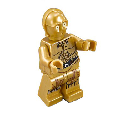 LEGO 75136 (Split) Star Wars C-3PO