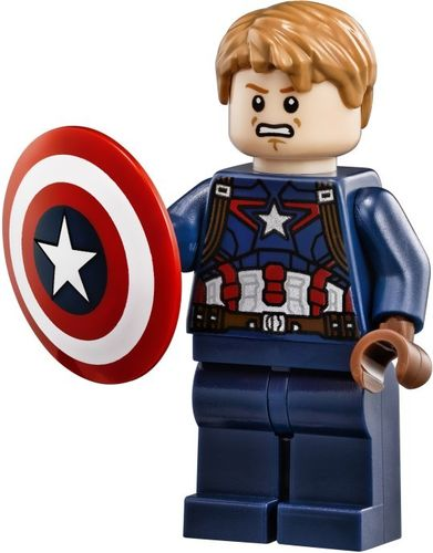 LEGO 76042 (Split) Captain America - Detailed Suit