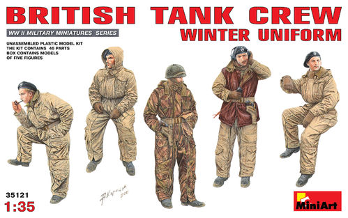 MINIART 35121 1/35 British Tank Crew Winter Uniform
