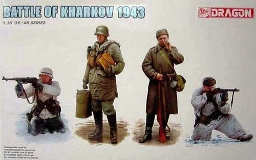 DRAGON 6782 1/35 Battle Of Kharkov 1943